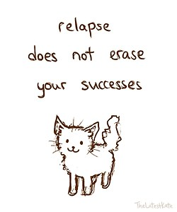relapse doesn't erase