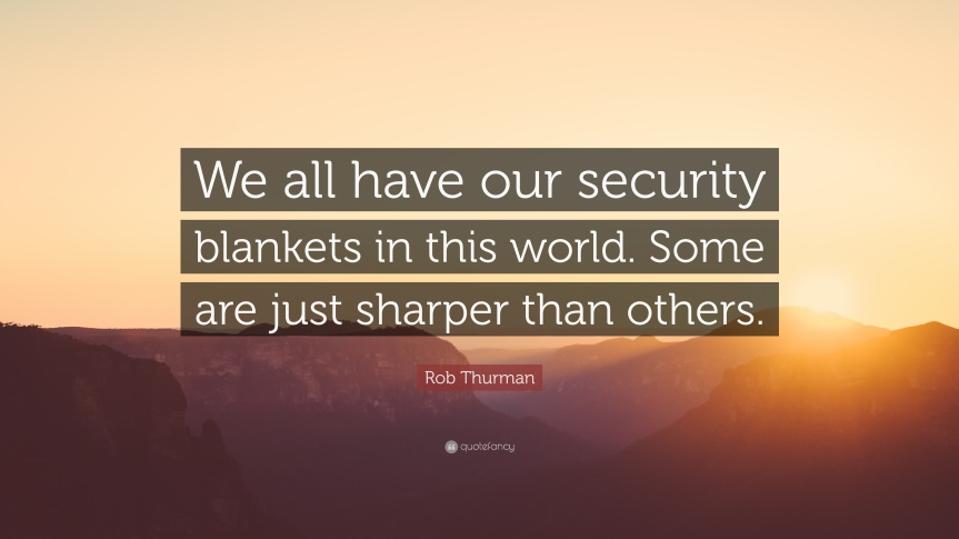 ostensible security blanket